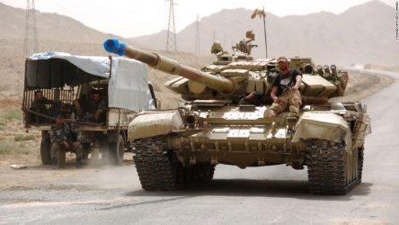 Ο Συριακός Στρατός στέλνει μεγάλες μονάδες στα νοτιοδυτικά της χώρας