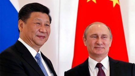 Οι πρόεδροι Πούτιν και Σι θα εξετάσουν ζητήματα για τους δύο διεθνείς εμπορικούς διαδρόμους