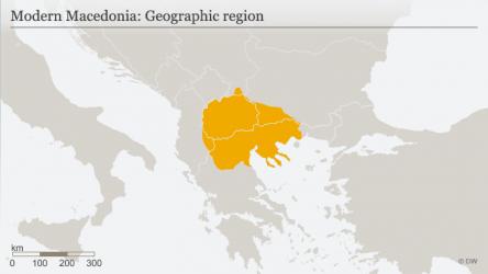 """H Deutsche Welle σήκωσε χάρτη με την """"μοντέρνα"""" Μακεδονία"""