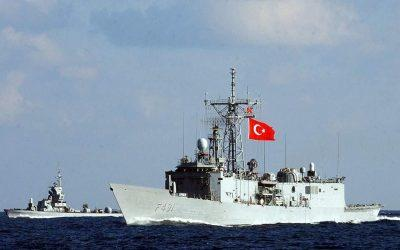 Σε επιφυλακή το Τουρκικό Ναυτικό στο Αιγαίο με μία φρεγάτα