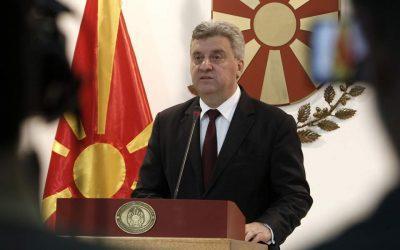 """Ιβανόφ: Δεν δέχομαι ιδέες ή προτάσεις που θα μπορούσαν να βάλουν σε κίνδυνο την εθνική ταυτότητα των """"Μακεδόνων"""""""