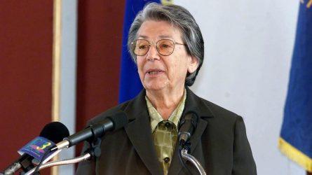 ΝΔ με αφορμή το θάνατο της πρώην υφυπ. Εξωτερικών Βιργινίας Τσουδερού