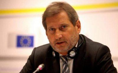 Χαν προς Σκόπια για δημοψηφίσμα: «Να είστε συγκεντρωμένοι και ενωμένοι»