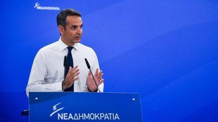 Μητσοτάκης: Δεν μπορεί να υπάρχει πολιτική ευθύνη χωρίς παραίτηση