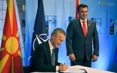 Ενόχληση Μόσχας για την ένταξη της ΠΓΔΜ στο ΝΑΤΟ