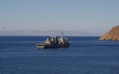 Στην Αλεξάνδρεια το Ελληνικό πολεμικό πλοίο «Προμηθεύς»
