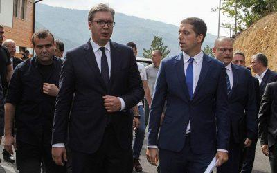 Αλβανοί Κοσοβάροι απέκλεισαν την πρόσβαση του Σέρβου Προέδρου σε χωριό