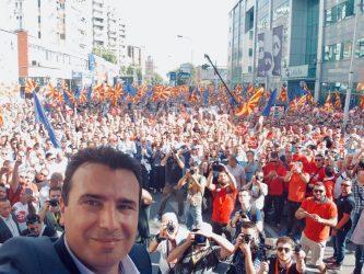 """Ζάεφ: Πενς και Μακρόν επιβεβαίωσαν ότι έχουμε ένα κράτος, έναν """"Μακεδονικό"""" λαό και μια """"Μακεδονική"""" γλώσσα"""