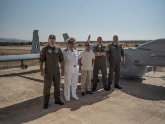 Παρθενική πτήση μη επανδρωμένου αεροσκάφους της Frontex στο Αιγαίο