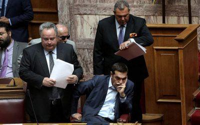 Ο Νίκος Κοτζιάς ζητά από το Μαξίμου να αποδοκιμάσει τις αναφορές Καμμένου για μυστική συμφωνία στο Σκοπιανό