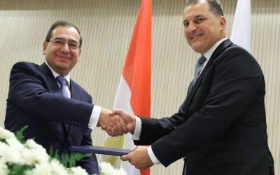 Επεσαν οι υπογραφές Κύπρου–Αιγύπτου για τον αγωγό φυσικού αερίου