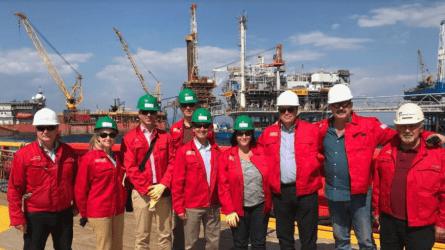 Στις εγκαταστάσεις της Energean στον Πρίνο ο υφυπουργός Ενέργειας των ΗΠΑ