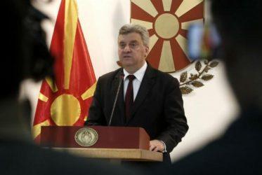 Σκόπια: Ο Πρόεδρος Ιβάνοφ θα απέχει από το δημοψήφισμα