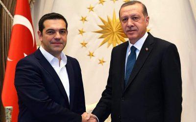 """Τσίπρα και Ερντογάν τα """"λένε"""" στη Νέα Υόρκη"""