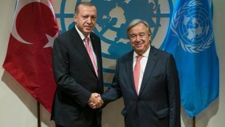 Για την κατάσταση στη Συρία συζήτησε ο ΓΓ του ΟΗΕ με τον πρόεδρο της Τουρκίας