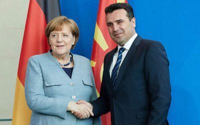 Μέρκελ σε Σκοπιανούς: Ψηφίστε την συμφωνία
