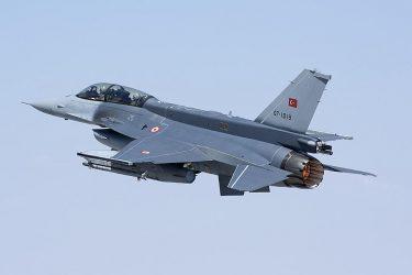 Πτήση Τουρκικών μαχητικών πάνω από την Παναγιά των Οινουσσών