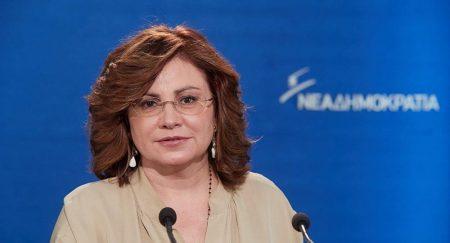 Διαψεύδει το δημοσίευμα της FAZ η Μαρία Σπυράκη για συνάντηση με Ζάεφ
