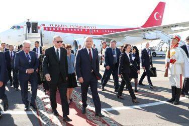 Επίσημη επίσκεψη στην Μολδαβία πραγματοποιεί ο Ερντογάν