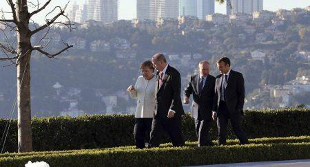 Ολοκληρώθηκε η τετραμερής σύνοδος στην Κωνσταντινούπολη για τη Συρία