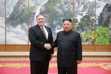 Συνάντηση Πομπέο με Κιμ Γιονγκ Ουν στην Πιονγκγιάνγκ