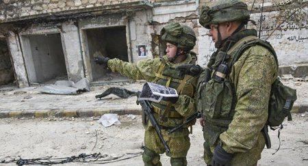 Μάνμπιτζ: Η Στρατονομία των Ρώσων παίρνει θέση ανάμεσα στους Σύριους και τους μισθοφόρους