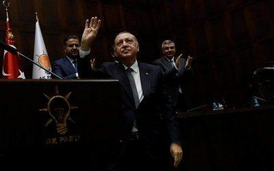 Δύο σενάρια για τον Ερντογάν