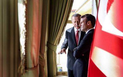 Ερντογάν σε Μακρόν: Η συνεργασία Τουρκίας-Γαλλίας έχει «πολύ σοβαρή δυναμική»