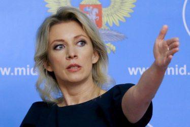 Μαρία Ζαχάροβα: Απαράδεκτες οι υποσχέσεις του Στόλτενμπεργκ προς τα Σκόπια ότι θα ενταχθούν στο ΝΑΤΟ