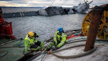 Βυθίστηκε η Νορβηγική φρεγάτα που συγκρούστηκε με ελληνόκτητο τάνκερ