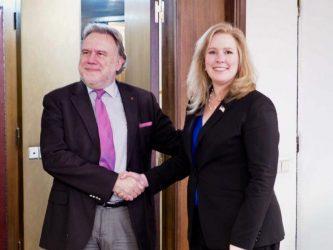 Συνάντηση Γ. Κατρούγκαλου με την Βοηθό Υπουργό Εθνικής Ασφαλείας των ΗΠΑ E. Neumann
