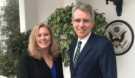 Πρεσβεία των ΗΠΑ στην Αθήνα – Πετυχημένη η επίσκεψή στην Ελλάδα της Ελίζαμπεθ Νόιμαν