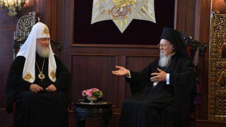 Οικουμενικός Πατριάρχης: Στη Ρωσία ομιλούν για σχίσμα, εμείς ομιλούμε για αγάπη