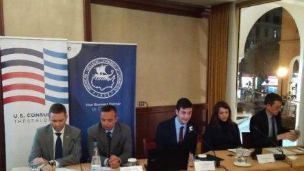 Πρόξενος των ΗΠΑ στη Θεσσαλονίκη: Βλέπουμε ευκαιρίες στην Ελλάδα