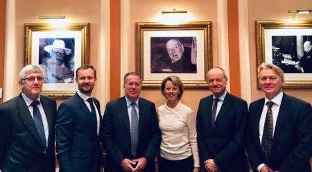 Συνάντηση Κουμουτσάκου με τους Πρέσβεις της πρωτοβουλίας των 8 Βόρειων και Βαλτικών χωρών
