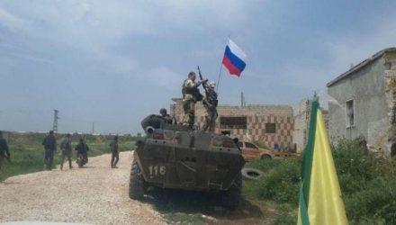 Βόρεια Συρία – Έφτασαν οι Ρώσοι και στήνουν φυλάκια