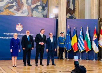 Πρωθυπουργός: : Τα Βαλκάνια να ξαναγίνουν επίκεντρο ειρήνης, συνεργασίας, συνανάπτυξης