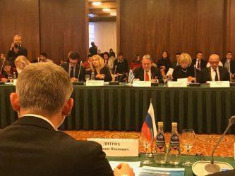 Yπουργός Μεταφορών Ε. Ντίντριχ: Οι ελληνο-ρωσικές σχέσεις δείχνουν σταθερή βελτίωση