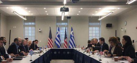 Ουάσινγκτον: Ξεκίνησε ο Στρατηγικός Διάλογος Ελλάδας – ΗΠΑ