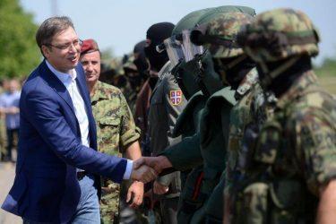 Ο Vucic με τον στρατό στα σύνορα Σερβίας –Κοσσόβου