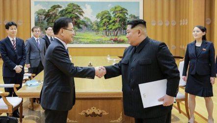 Κορεατική Χερσόνησος: Νέα συνάντηση επιδιώκει ο Κιμ με τον Νοτιοκορεάτη πρόεδρο Μουν Τζε-ιν