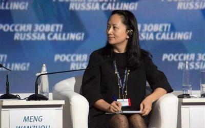 Ελεύθερη υπό όρους η οικονομική διευθύντρια της Huawei