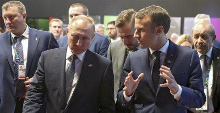 Ο Πούτιν το έκανε σαν τον Στάλιν – Ζωγράφισε στον Μακρόν τα συμφέροντα του στην Κριμαία