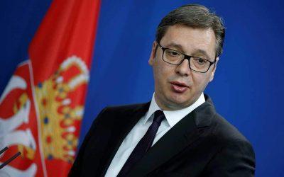 Βούτσις: Η Σερβία θα αναγνωρίσει πρώτη τη Βόρεια Μακεδονία