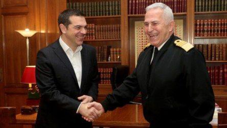 Ορκίστηκε ως νέος υπουργός Εθνικής Άμυνας ο Ευάγγελος Αποστολάκης