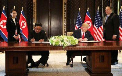 Ο Τραμπ «αδημονεί» για μια νέα συνάντηση με τον Κιμ Γιονγκ Ουν
