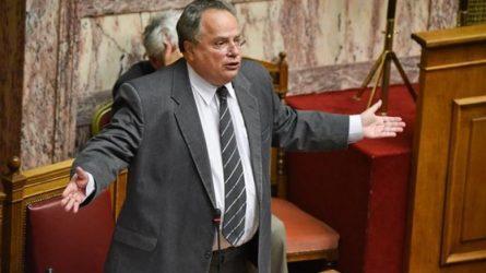Νίκος Κοτζιάς για Πάνο Καμμένο: Η άρση ασυλίας του πρέπει να γίνει από την παρούσα Βουλή
