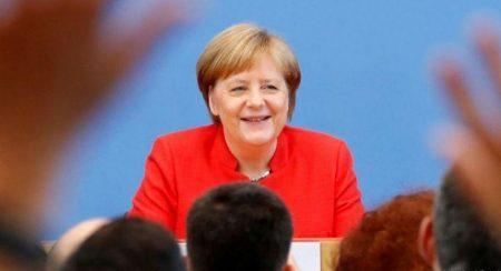 Ανησυχία για τις μεγάλες παγκόσμιες εξελίξεις εξέφρασε η Ά. Μέρκελ