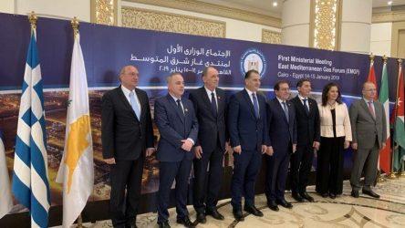 Σταθάκης: Πολλά τα οφέλη για την Ελλάδα από τη δημιουργία του East Mediterranean Gas Forum