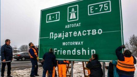 Σκόπια – Αλλάζουν σε «Βόρεια Μακεδονία» πινακίδες δρόμων